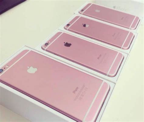 iphone pink gold is this apple s pink gold iphone 6s leaked photos