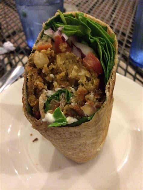 green vegetarian cuisine falafel burrito yelp