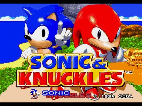 Mega Drive longplay [001] Sonic & Knuckles (part 1/2 ...
