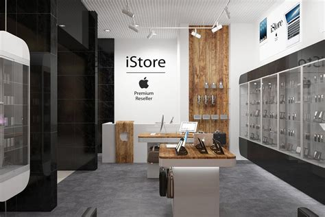 "Apple Store ""yabko"" Interior Design  New Shop Pinterest"