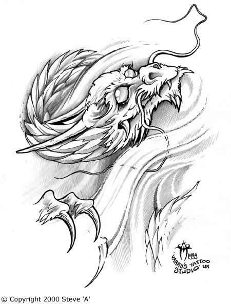 Redpig Studio Tattoo: popular japanese dragon tattoo designs 2012