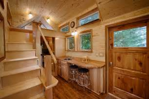 tiny homes interiors a tiny house with a island cottages