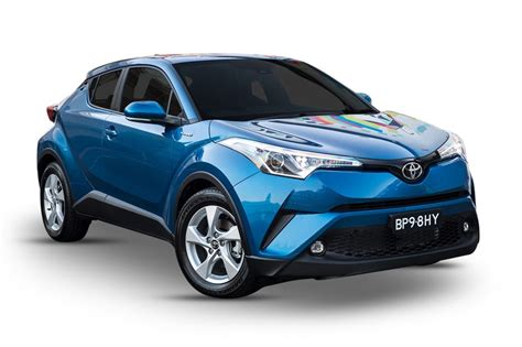 2017 Toyota C-hr (2wd), 1.2l 4cyl Petrol Turbocharged