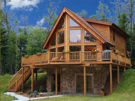 Log Home Interiors Log Cabin Lake House Plans, Inexpensive