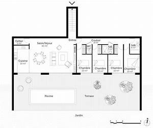 Type De Sol Maison : plan maison enterr e ooreka ~ Melissatoandfro.com Idées de Décoration