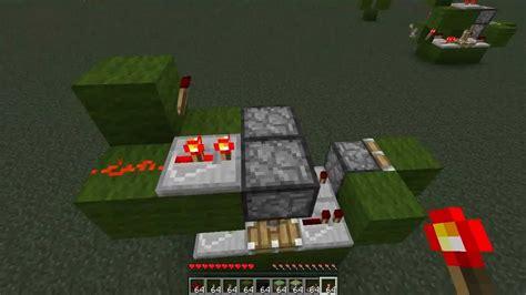 Minecraft Dual Edge Monostable Circuit Tutorial