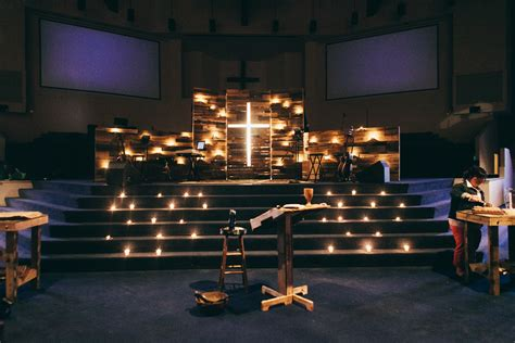 church stage design worship spaces valley view church wood walls the