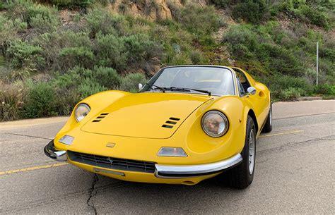 Die karosserie entwarf aldo brovarone für pininfarina. 1973 Ferrari Dino 246 GTS - The Speed Journal