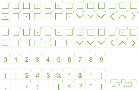 Illuminati Font Free Font Illuminati Masonic Cipher