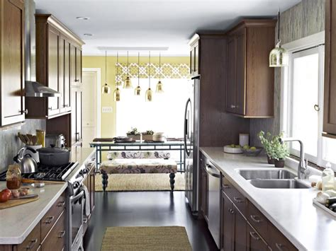 small kitchen decorating ideas pictures tips  hgtv