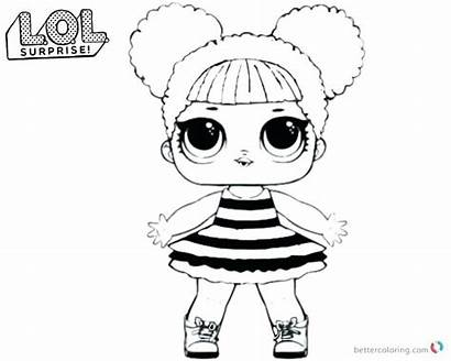 Lol Coloring Doll Pages Bee Dolls Printable