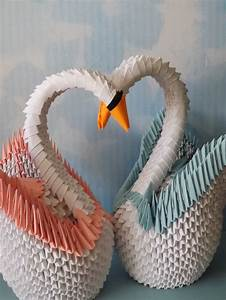 origami swan 3d 17 best 3d origami swans images on ...