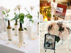creative wedding ideas unique wedding table name ideas travel southbound