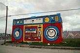 Ghetto House music | Street art, Street art graffiti