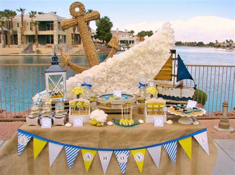 Nautical Baby Shower Decorations For Home: 20 Creative Nautical Parties