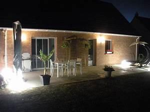 Lumiere De Terrasse : eclairage terrasse bois exterieur diverses ~ Edinachiropracticcenter.com Idées de Décoration