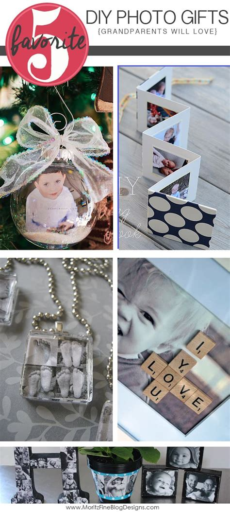 diy photo gift ideas  grandparents dads gift ideas
