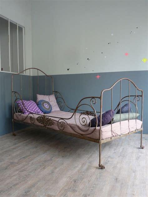 lit ancien fer forg 233 1 place de conception de maison