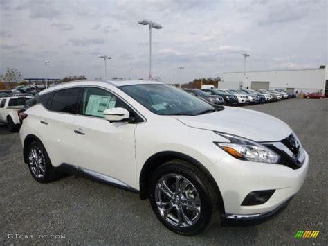 2017 Pearl White Nissan Murano Platinum Awd 116898920