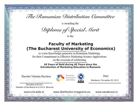 diploma of marketing distribution committee magazine 187 diploma of