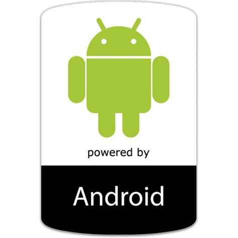 androide android os badge sticker unixstickers