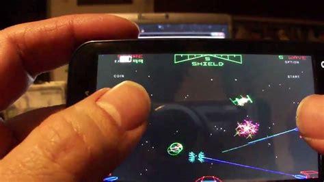 atari star wars emulated  android smartphone  remake  pc youtube