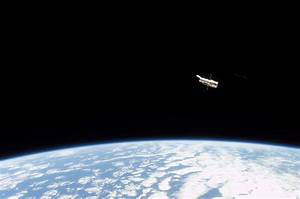 Hubble Space Telescope sporting new solar arrays during ...