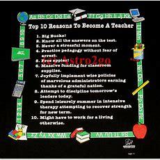 Top 10 Reasons To Become A Teacherschool Education T Shirt S2xl Ebay
