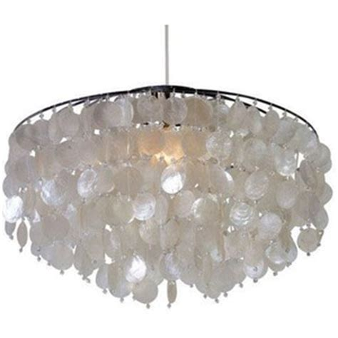 west large capiz shell chandelier mydeco