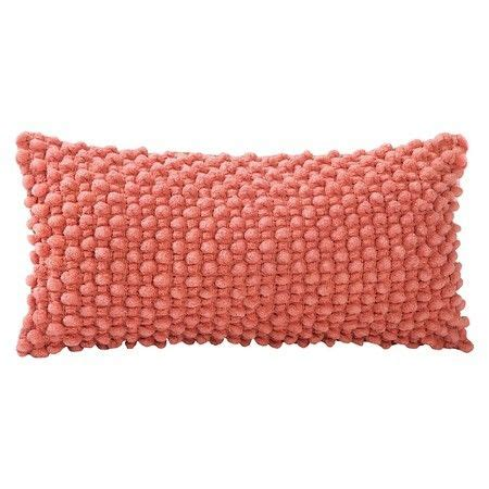 Target Bedroom Throw Pillows by Popcorn Throw Pillow Coral 9 Quot X18 Quot Vcny 174 Target