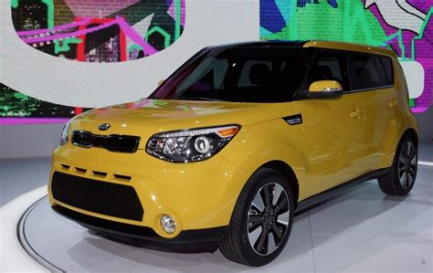 kia soul solar yellow inferno red paint finishes