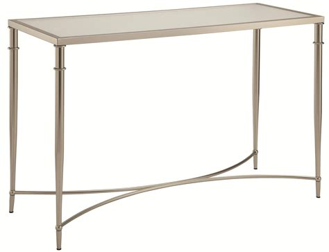 glass desk metal legs 70334 sofa table with metal legs and frosted glass top