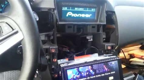 cruze lt  dvd  din pioneer avh xbt parte  youtube