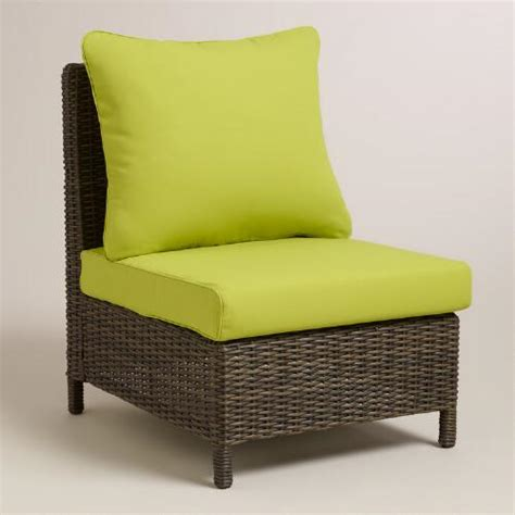 Armless Sofa Slipcover by Apple Green Solano Sectional Armless Chair Slipcover