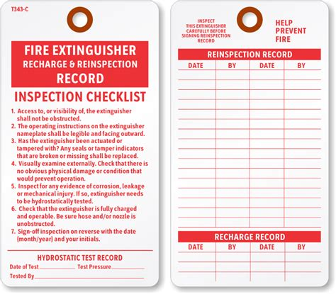 where to buy cardstock extinguisher tags extinguisher inspection tags
