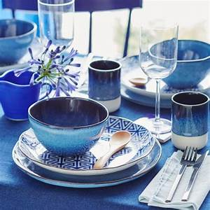 Tischdeko Blau Weiß : geschirr gegen fernweh bild 4 living at home ~ Markanthonyermac.com Haus und Dekorationen