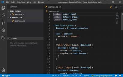 Outline Vscode Puppet Breadcrumbs Extension