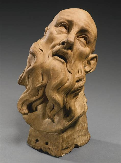Gian Lorenzo Bernini | An Italian terracotta head of a ...