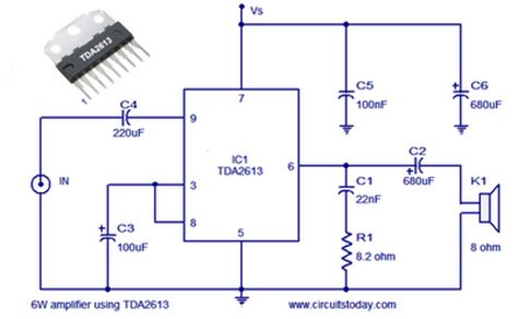 World Technical Watt Audio Amplifier Circuit