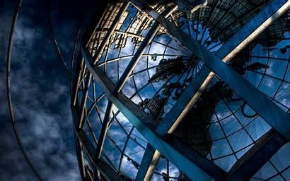 Structure Globe Metal Huge Sky Wallpapers Wallhere
