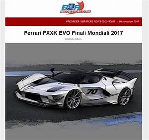 Ferrari Fxx K Prix : voir le sujet ferrari fxx k evo bbr forum ferrari modelisme 1 18 ~ Medecine-chirurgie-esthetiques.com Avis de Voitures