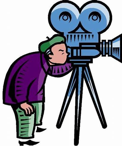 Clipart Making Movies Clip Cliparts Cameras Library