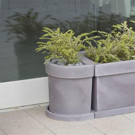 vasi esterno resina vaso a parete per piante themis nicoli