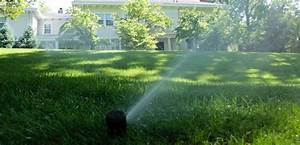 It s dry out there time to activate your irrigation
