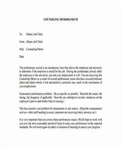 fine counseling memo template photos resume ideas With counseling memo template