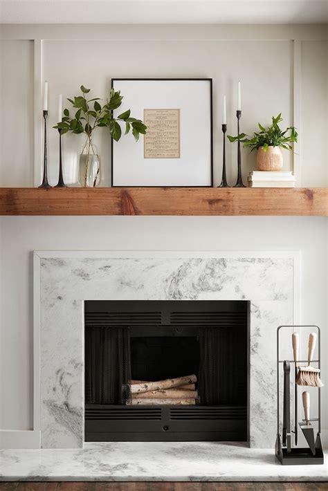 episode  season  farmhouse fireplace mantels modern