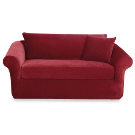 Loveseat Slipcovers Bed Bath And Beyond by Buy Stretch Sofa Covers From Bed Bath Beyond