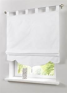 Fenstergestaltung Ohne Gardinen : raffrollo jamal bpc living weiss rollos raffr ~ Eleganceandgraceweddings.com Haus und Dekorationen