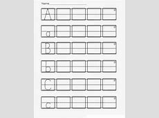 Kindergarten ABC Worksheets Printable Loving Printable