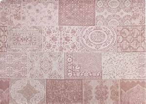 tapis rose ou gris design vintage chez ksl living With tapis gris et rose
